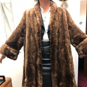 Jackets & Blazers - Mandel brothers vintage fur coat